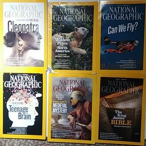 July-Dec 2011 National Geographic issues